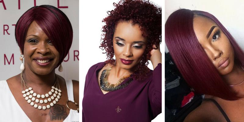 Preferência cabelo cor marsala para negras - Curso de Colorimetria FQ51